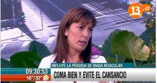 Entrevista en canal 13 ¿Te levantas y te acuestas cansado?